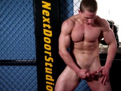 athletic-ripped-hunk-strokes-his-thick-cock