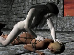 tied-up-3d-blonde-sucks-cock-and-gets-fucked-hard