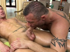 massaging-his-warm-throat-with-his-huge-shlong