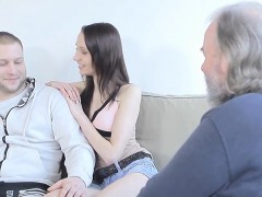 Sexy Legal Age Teenager Seduced By Old Chap