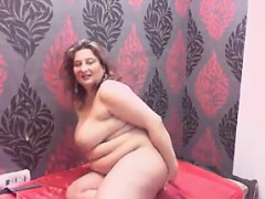 big-woman-gets-naked-and-poses