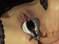 masked-slut-showing-off-her-pussy