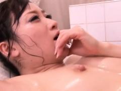 japanese-milf-bodysliding-in-bathroom