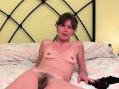 Grandma's Pussy Needs Finger Fucking