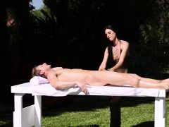 Sexy Milf Masseuse Gives Blowjob And Fucked By Clients Shaft