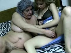 Crazy grandma super horny
