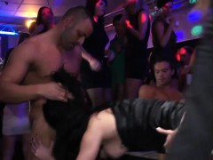 Naughty Babes Get Banged In The Club