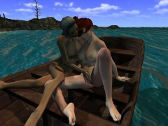 3d-dyke-gets-licked-on-a-boat