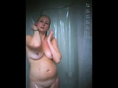 Morning Shower My Mom On Spy Camera