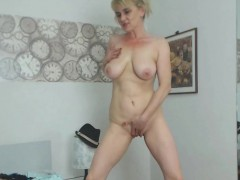 milf-with-big-creamed-boobs-masturbates