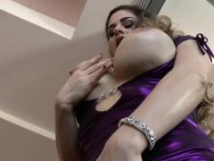 Busty sluts tits cummed