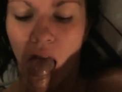 Slim brunette girlfriend having house sex that is kinky
