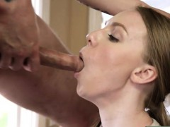 Cute Blonde Teen Banged By Her Stepbro While Washing Dishes