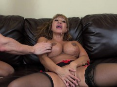 Bit tit Ava Devine gets pumped hard and then gets a nasty facial