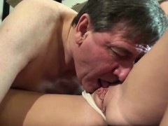 old chick young dick and old dude nails daughter until she ob