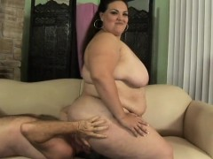 chubby latina angelina loves to be treated like a bitch by a hung guy