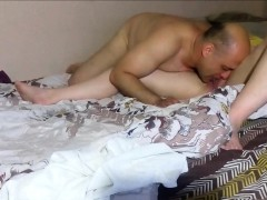 Mature Couple Pleasing Each Other Orally