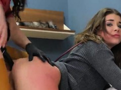 Kinky Kitten Was Taken In Anal Assylum For Uninhibited Treat