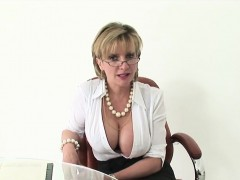 Cheating British Mature Lady Sonia Flashes Her Monster Natur