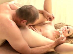 hot-blonde-takes-a-glass-toy-up-her-ass-before-enjoying-some-hard-meat