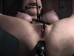 Sub Slave Holes And Tits Punished To The Max