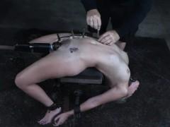restrained-slut-toyed-with-custom-made-object