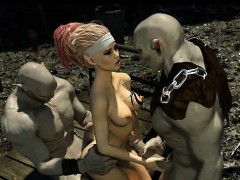 3d-busty-elf-destroyed-by-evil-orcs