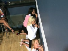 classy-cfnm-cougar-takes-bffs-to-a-gloryhole