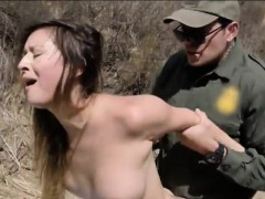 Sexy Amateur Babe Nailed In The Asshole By Border Patrol
