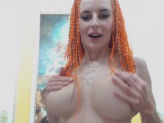 skinny-redhead-milks-her-big-tits-strips-and-dance