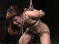Inked Spread Sub Flogged Raw Then Restrained