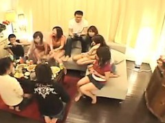 Japanese Couples Have A Dinner Party Before They Get To Fuc