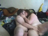 Cute bbw and her bf show off for f Delana from 1fuckdatecom