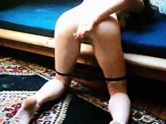 redhead-fingernails-her-vagina-together-with-her-dildo