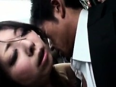 stacked japanese cougar has a raging stick plowing her muffin