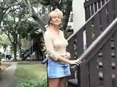 Interracial Intercourse With Complete Beautiful Mature Blon