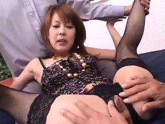 Sakurako Accepts Cock In Each Of Her Furry Holes
