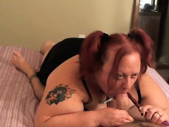 Hookah Ho Bbw Gives Smoking Head Vergie From 1fuckdatecom