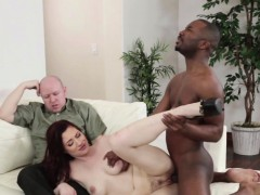 Redhead Milf Interracially Fucked In Cuckold