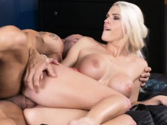 MOM Cock hungry blonde beauty
