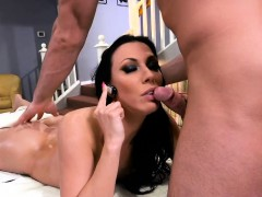 monster tits milf massaged and screwed hard by her perv masseur