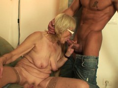 banging old girlfriends mother vagina on the table