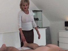 cheating uk milf gill ellis presents her monster puppies