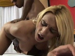 Bawdy Lover Of Sheboy Has A Big Fucking Surprise For Her