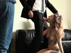 Wild Big Breasted Slut Ava Takes A Giant Boner Up Her Twat