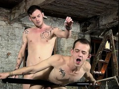 Tattoo Twinks Domination With Cumshot