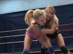 euro teens need assfingering after wrestling