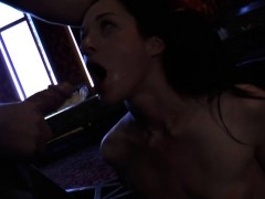 Restrained Slut Throated