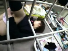 pretty japanese slut gives a nice blowjob and exposes her h