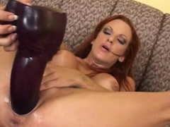 big titted shannon kelly gaped by the mother of all brutal dildos